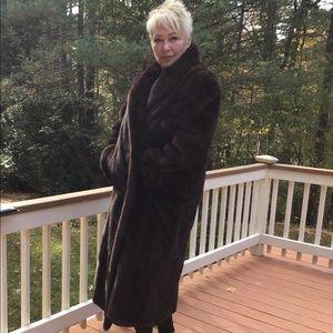 Jackets & Blazers - 🔥 Mink Coat  * Full Length * Mahogany 🔥 Stunning